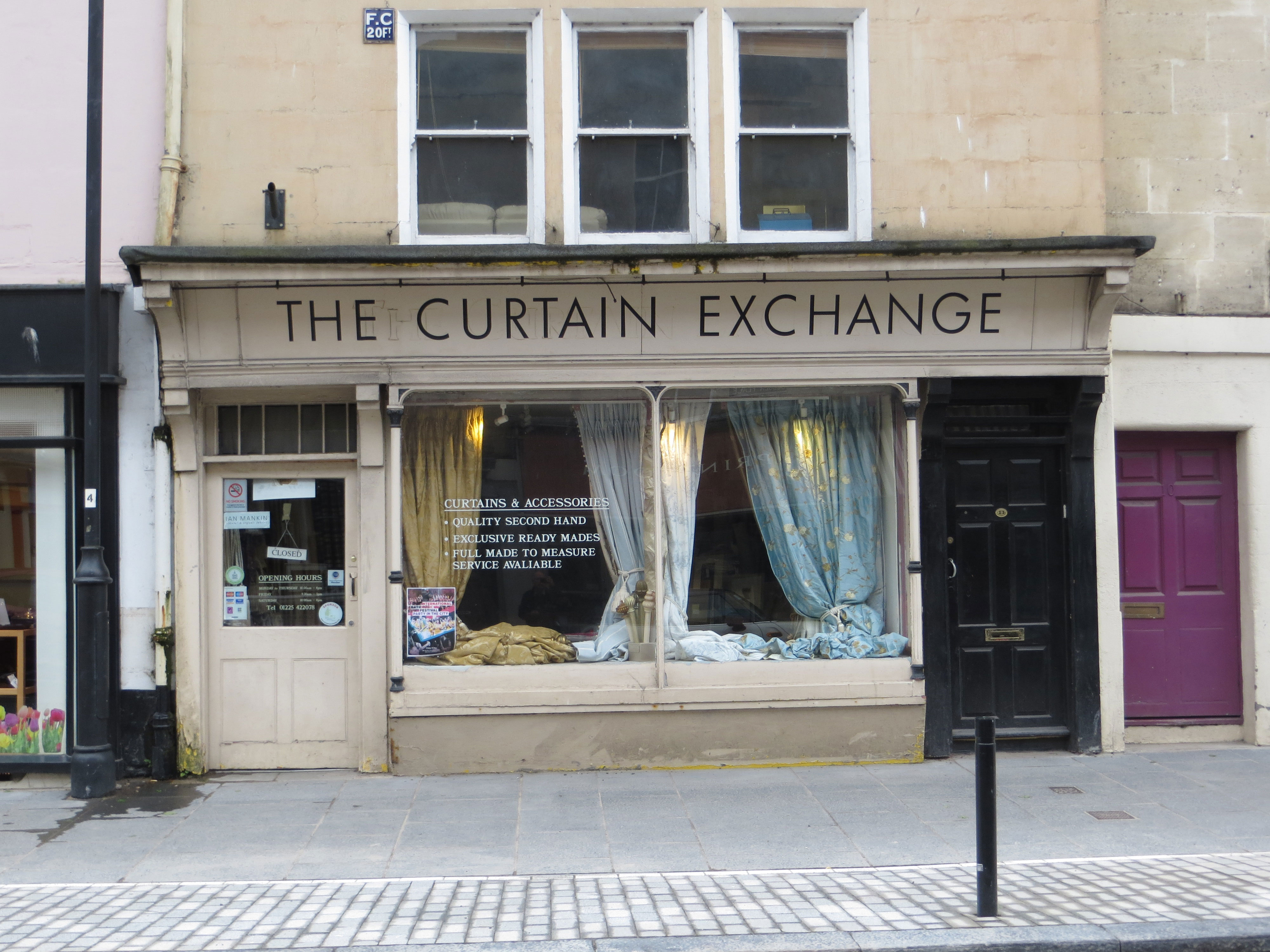 The Curtain Exchange Widcombe Association